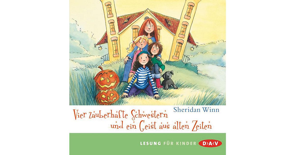 Vier zauberhafte Schwestern und ein Geist aus alten Zeiten, 2 Audio-CDs Hörbuch
