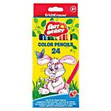 Цветные карандаши ErichKrause ArtBerry® Premium, 24 цвета