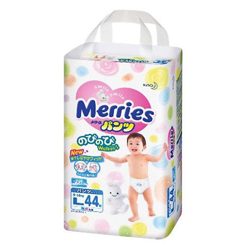 Трусики-подгузники Merries L 9-14 кг, 44 шт. от Merries