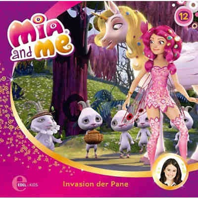 CD Mia and me 12 - Invasion der Pane