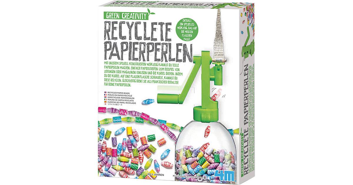 Recycelte Papierperlen