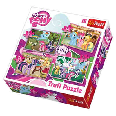 Puzzle-Set 4in1 - 35/48/54/70 Teile - My little Pony