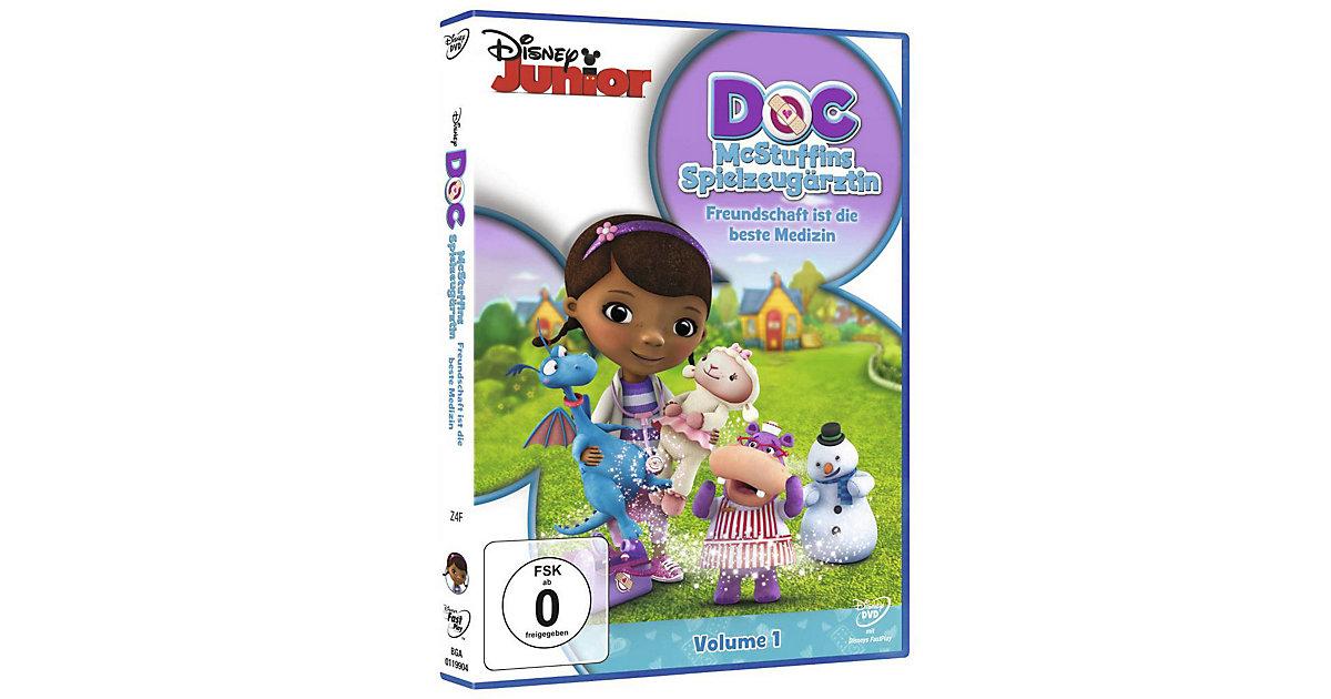 DVD Doc McStuffins Spielzeugärztin - Freundschaft ist die beste Medizin
