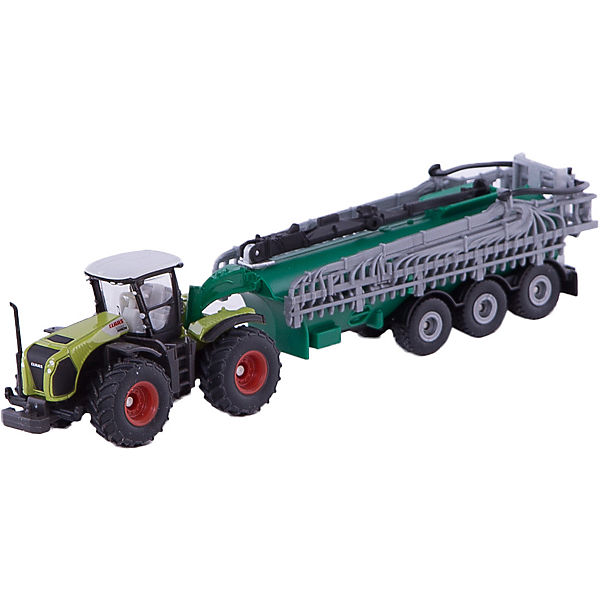 SIKU 1827 SIKU Farmer Claas Xerion mit Fasswagen Neu 1:87