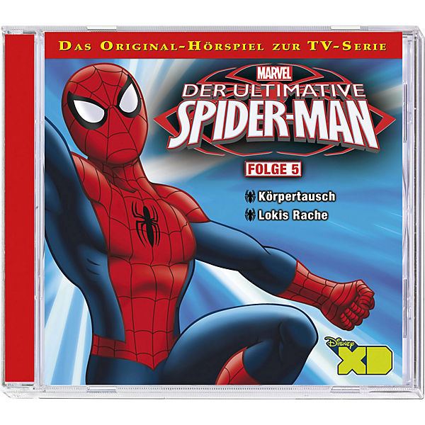CD Der ultimative Spiderman 5 - Körpertausch