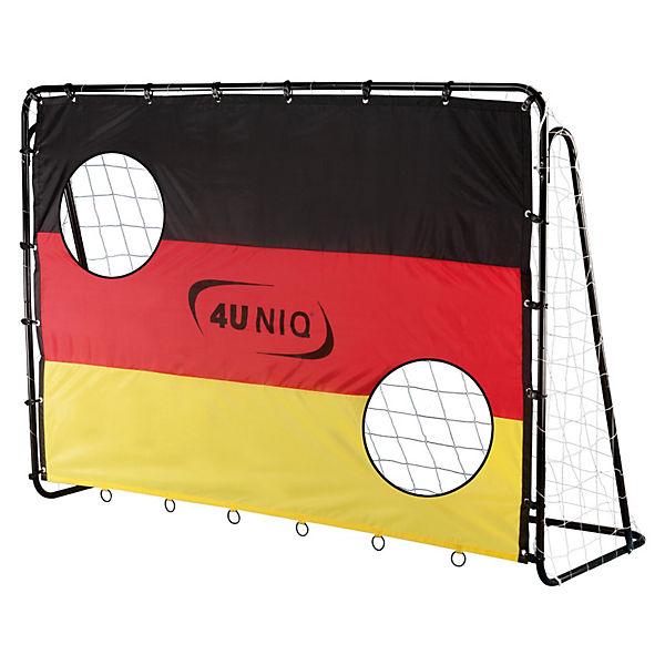 fu balltor champion germany mit torwand 213 cm 4uniq mytoys. Black Bedroom Furniture Sets. Home Design Ideas