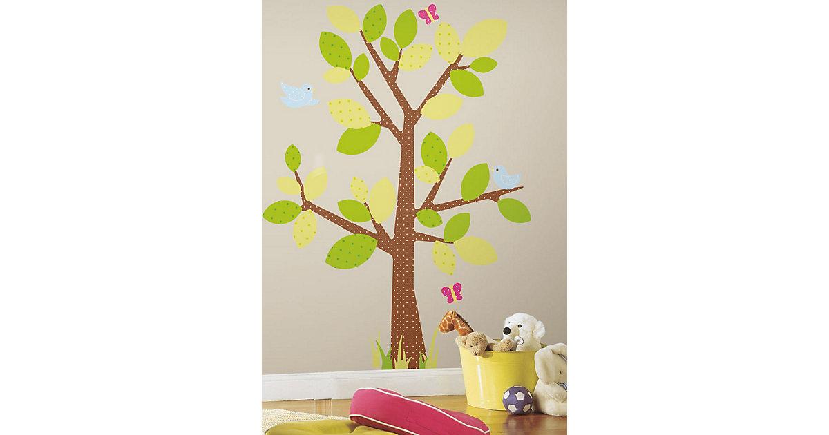 Wandsticker Baum Kids, 47-tlg.