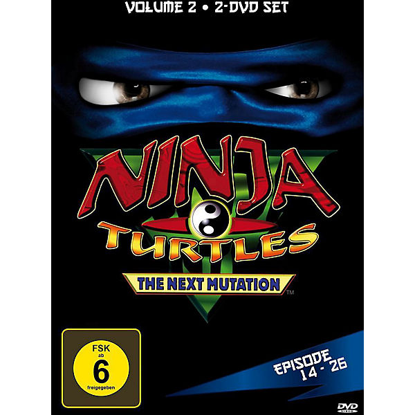 DVD Ninja Turtles - The Next Mutation Vol. 2 (2 DVDs)