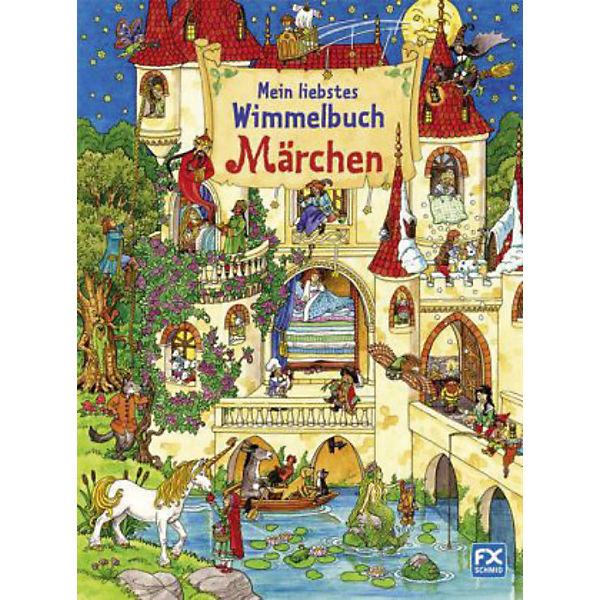 Mein liebstes Wimmelbuch Märchen, Caryad