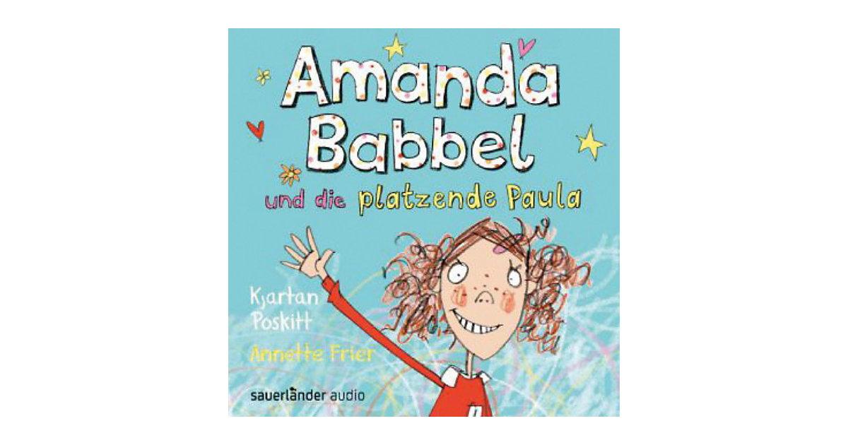 Amanda Babbel und die platzende Paula, 1 Audio-CD