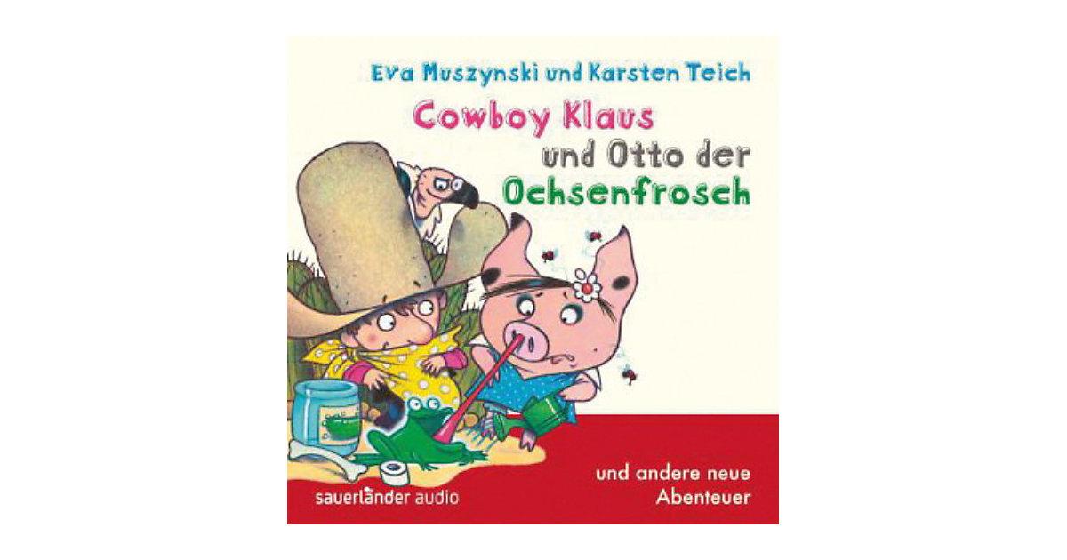 Cowboy Klaus und Otto der Ochsenfrosch, 1 Audio-CD