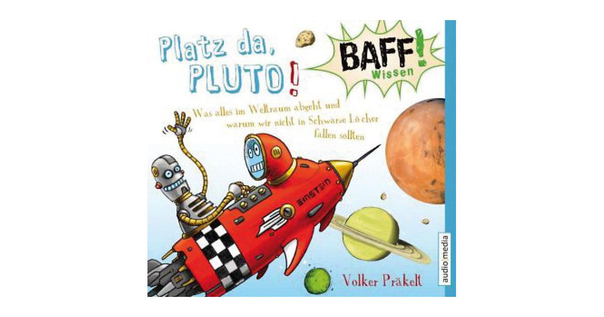 BAFF! Wissen: Platz da, Pluto!, 1 Audio-CD