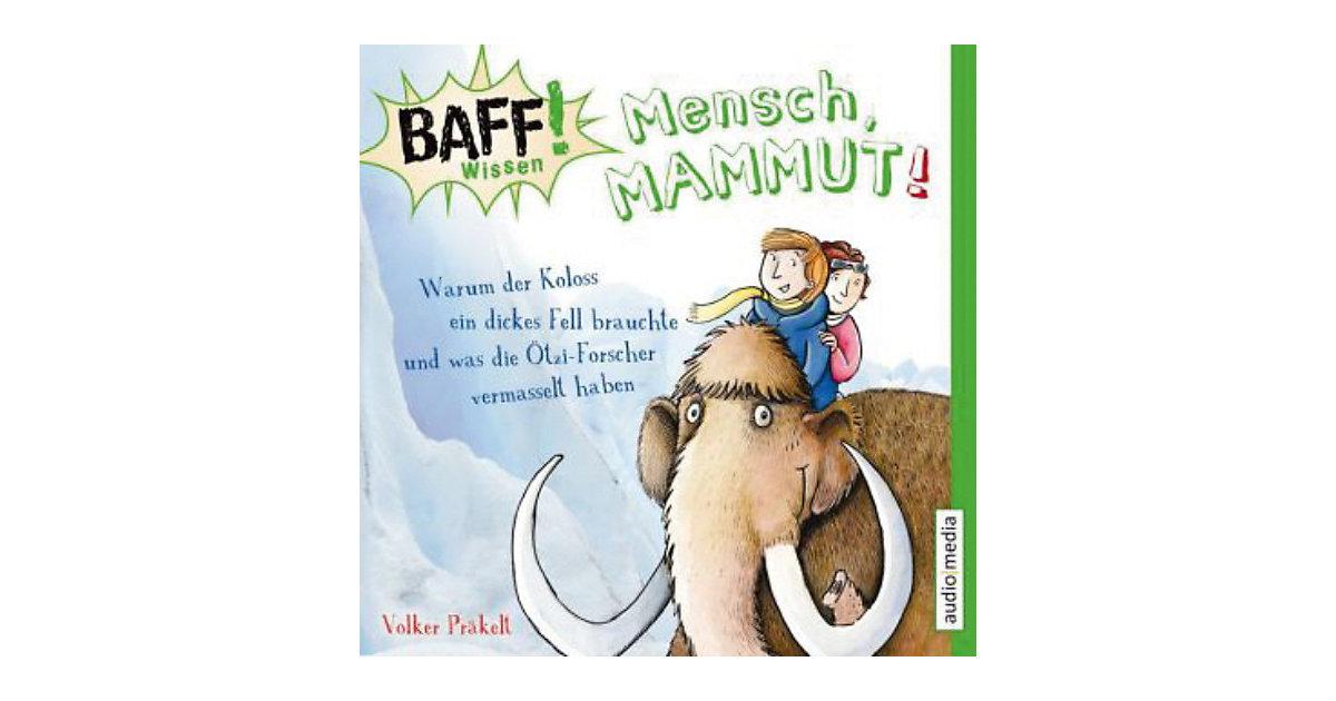 BAFF! Wissen: Mensch, Mammut!, 1 Audio-CD