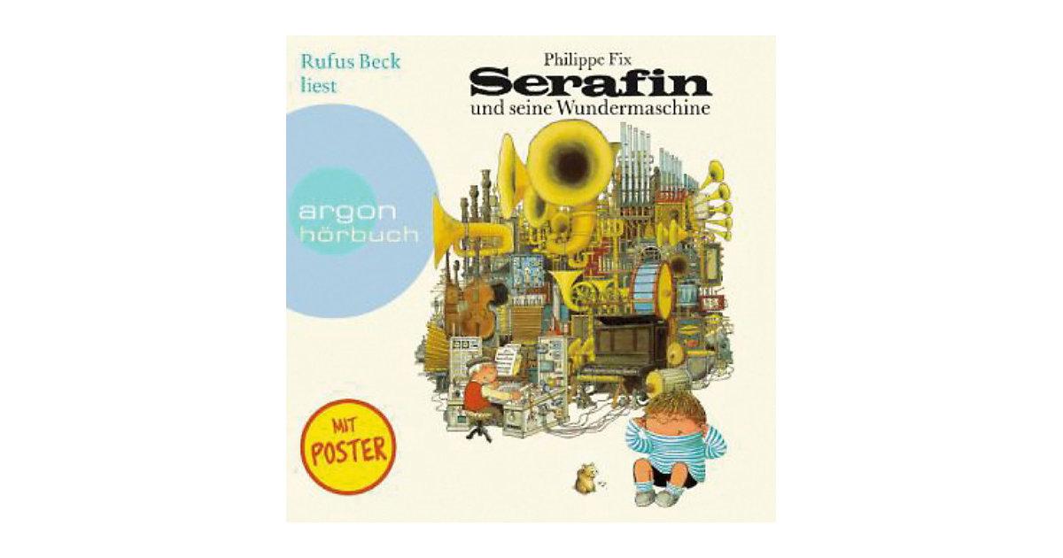 Serafin und seine Wundermaschine, 1 Audio-CD Hörbuch