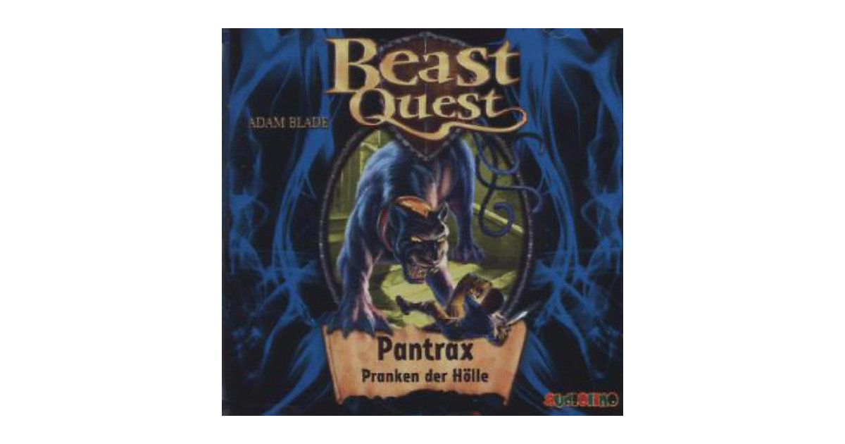 Beast Quest: Pantrax, Pranken der Hölle, 1 Audi...