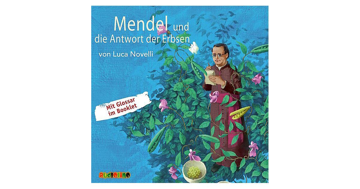 Mendel und die Antwort der Erbsen, 1 Audio-CD
