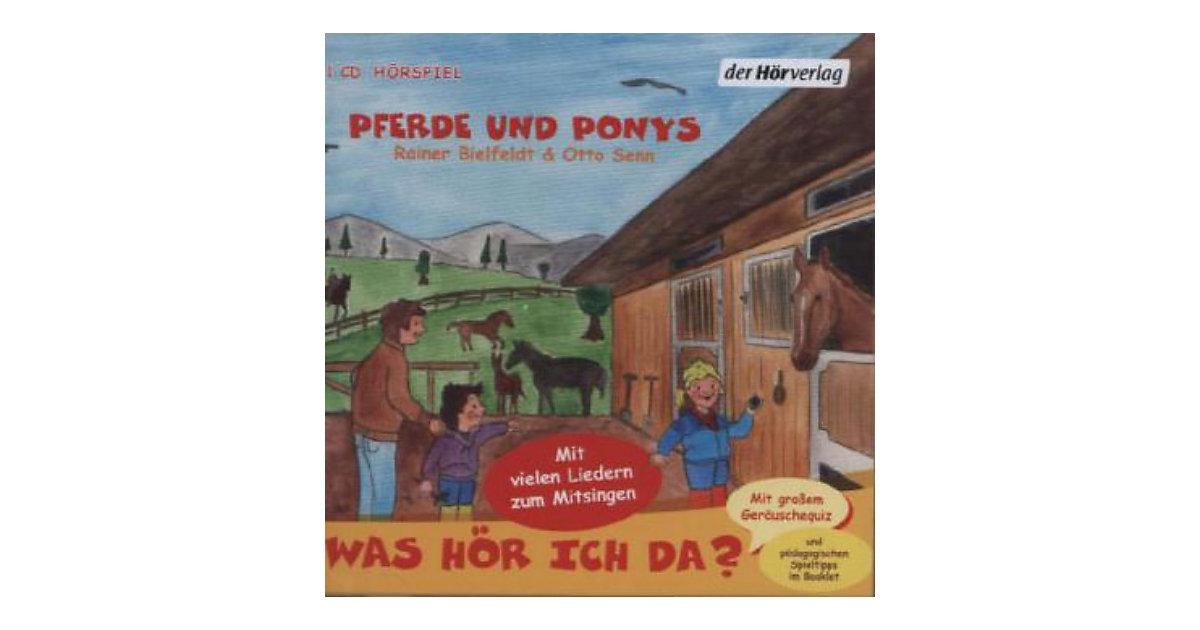 Was hör ich da? Pferde und Ponys, 1 Audio-CD
