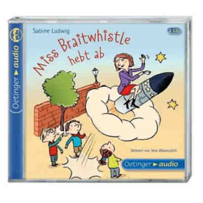 Miss Braitwhistle hebt ab, 2 Audio-CDs