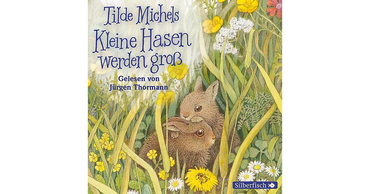 Kleine Hasen werden groß, 1 Audio-CD Hörbuch