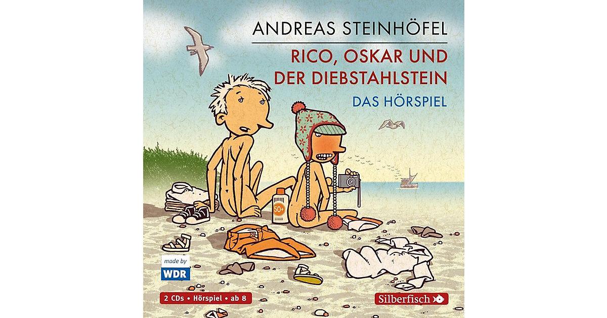 Rico, Oskar und der Diebstahlstein - Das Hörspiel, 2 Audio-CDs Hörbuch