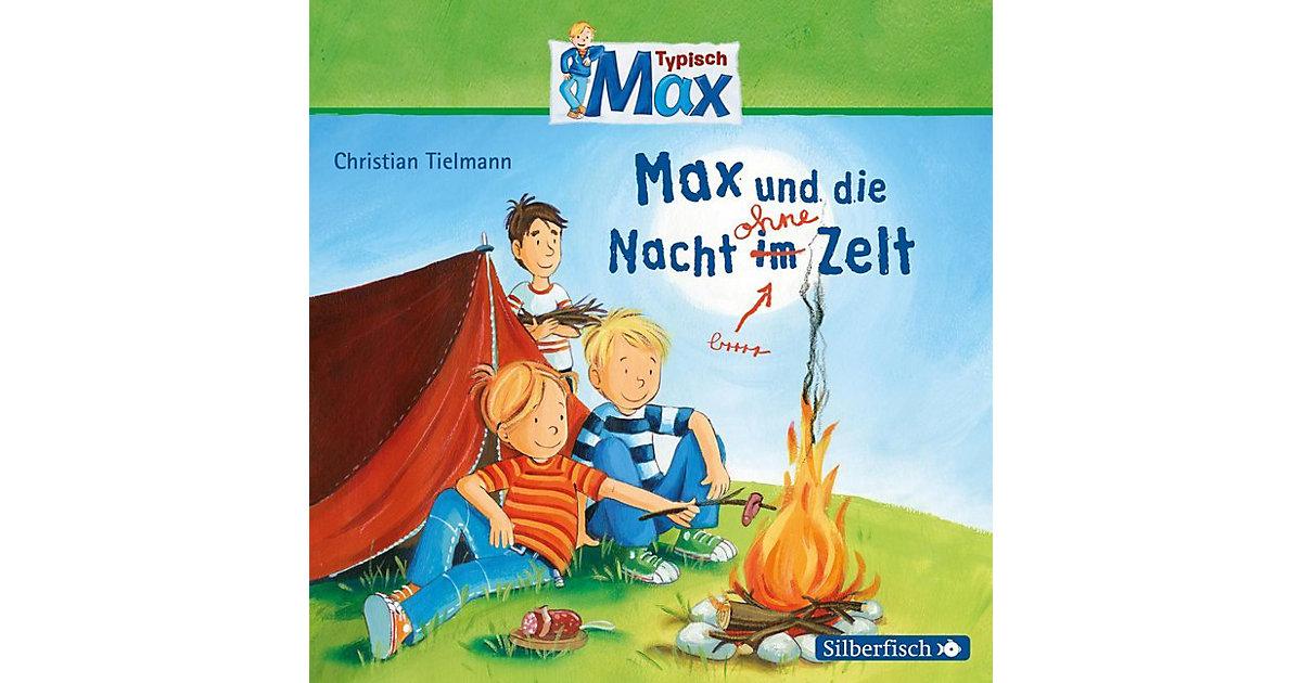 Typisch Max: Max und die Nacht im Zelt, 1 Audio-CD