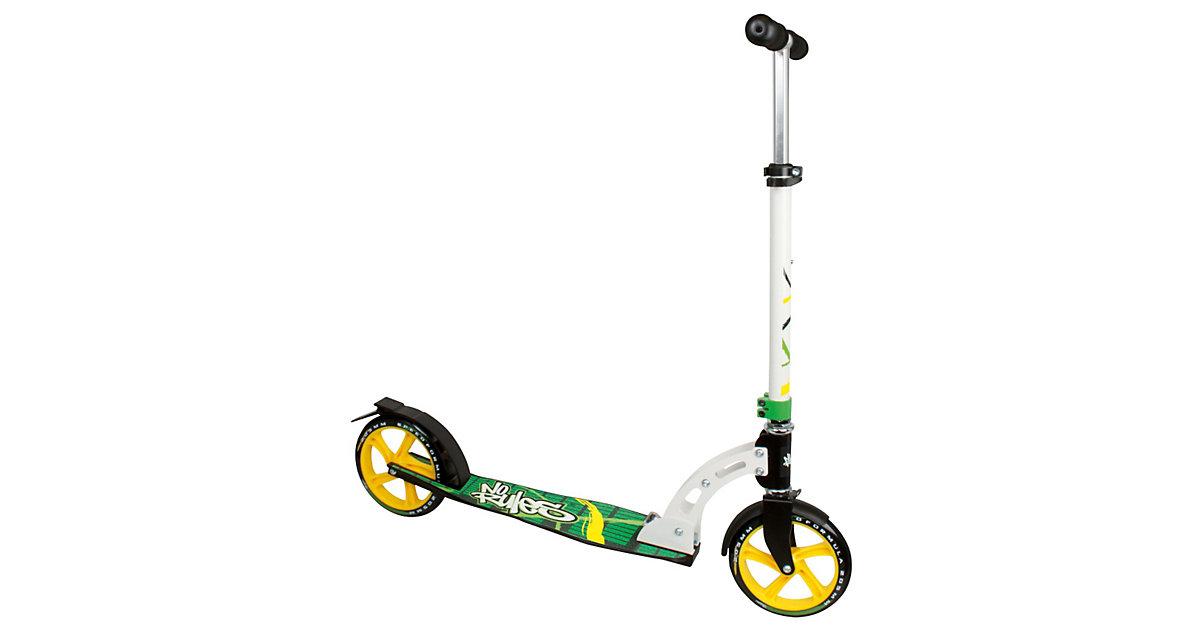 Scooter No Rules 205 mm schwarz/grün/gelb