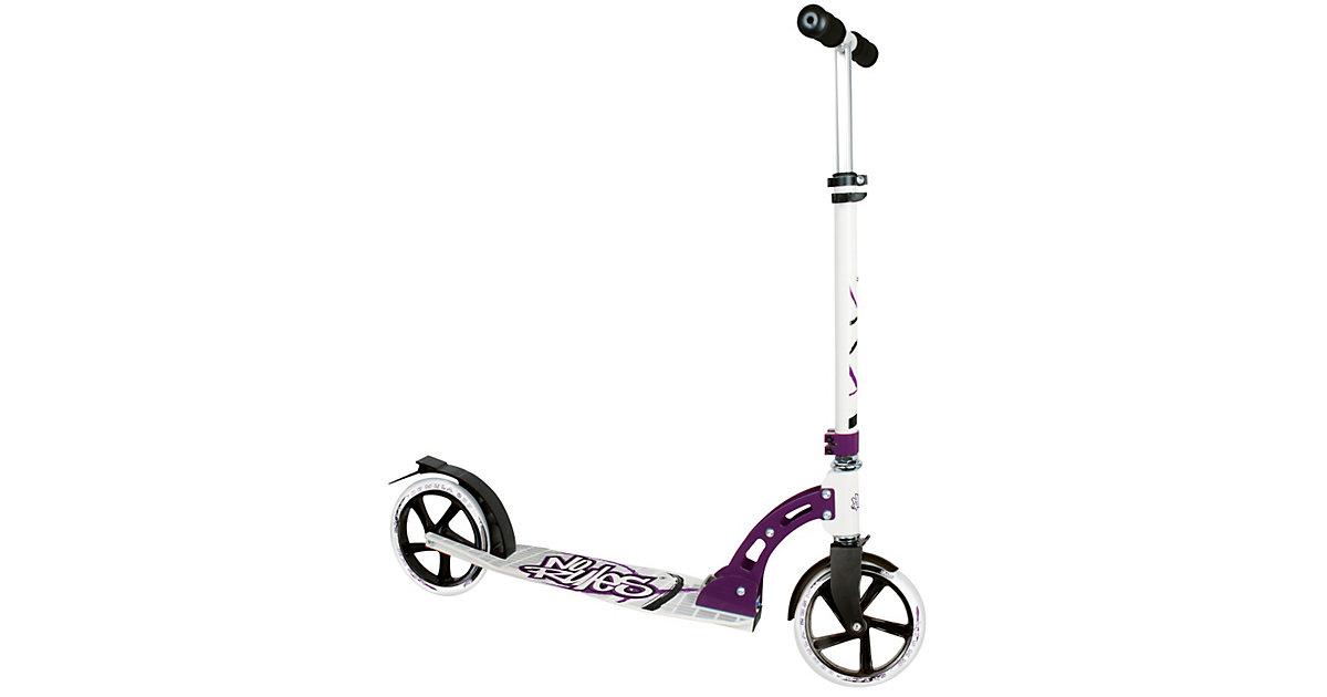 Scooter No Rules 205 mm schwarz/weiß/purple