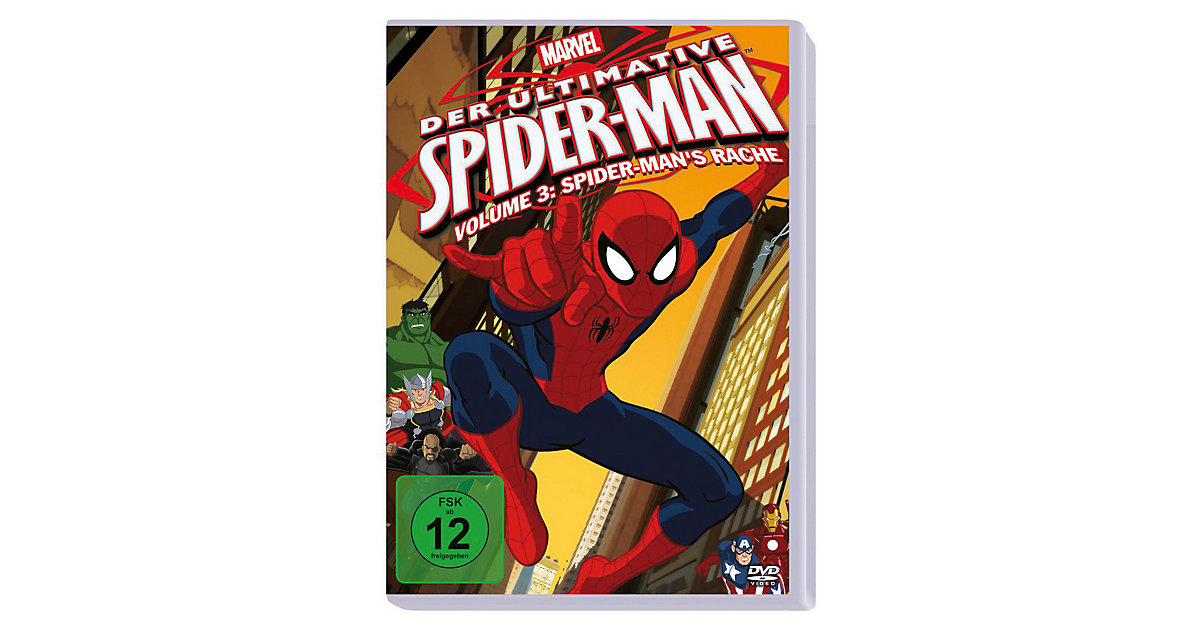 DVD Marvel Der ultimative Spider-Man Volume 3: ...