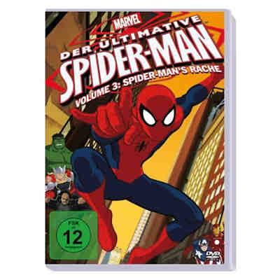 DVD Marvel Der ultimative Spider-Man Volume 3: Spider-Man's Rache