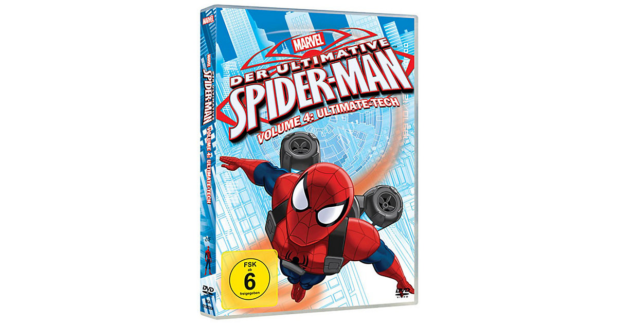 DVD Marvel Der ultimative Spider-Man Volume 4: ...
