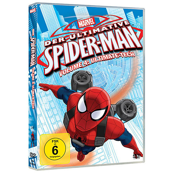 DVD Marvel Der ultimative Spider-Man Volume 4: Ultimate Tech