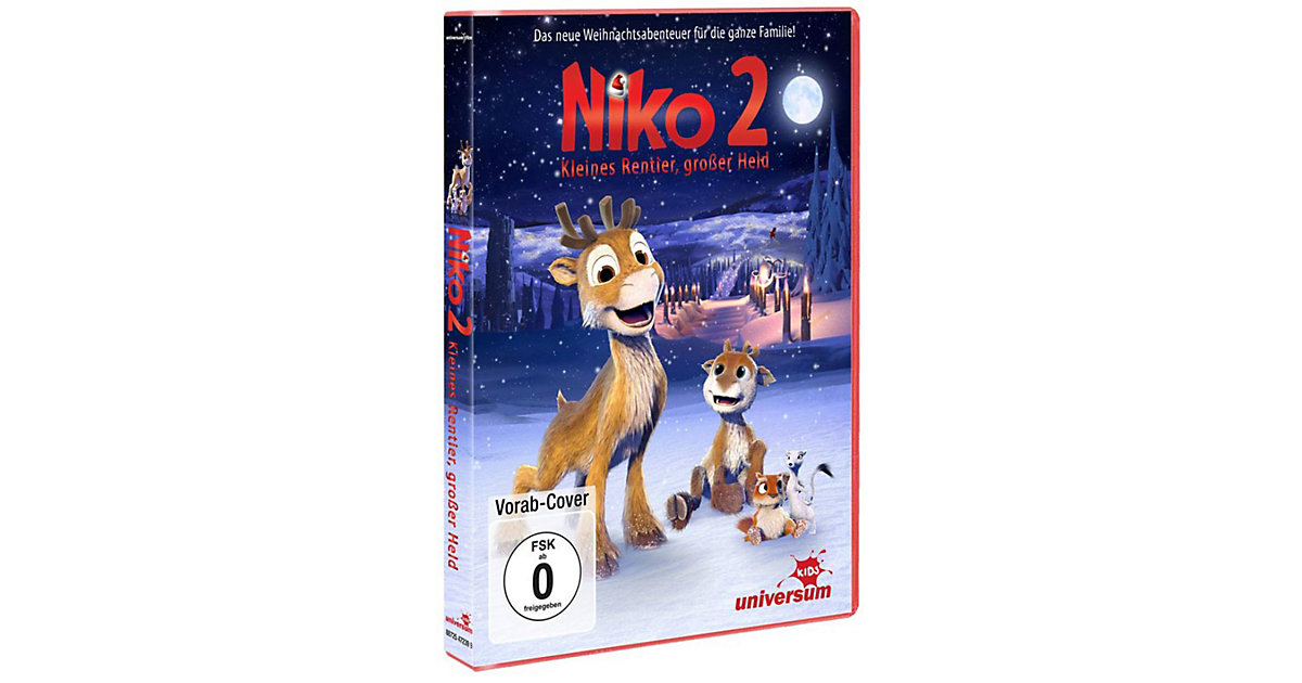 DVD Niko 2 - Kleines Rentier, großer Held Hörbuch
