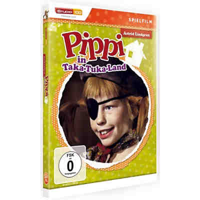 DVD Pippi Langstrumpf - Pippi in Taka-Tuku-Land