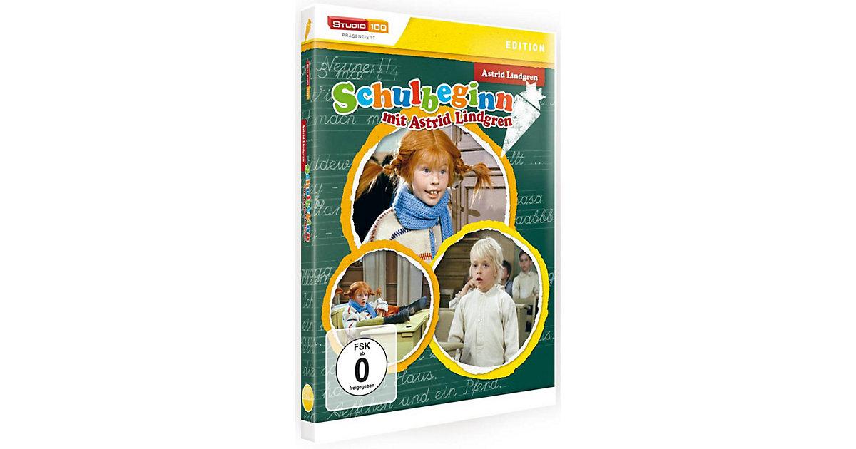 DVD Schulbeginn mit Astrid Lindgren Hörbuch