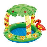 Надувной бассейн Bestway Джунгли, с навесом