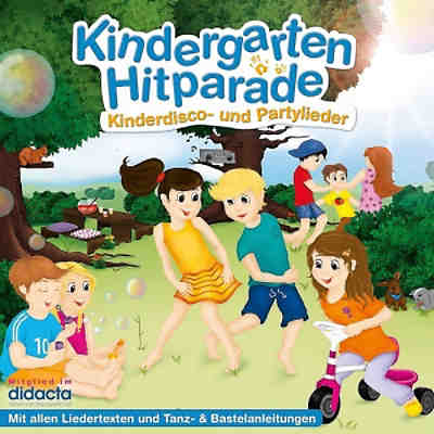 CD Kindergarten Hitparade: Kinderdisco und Partylieder