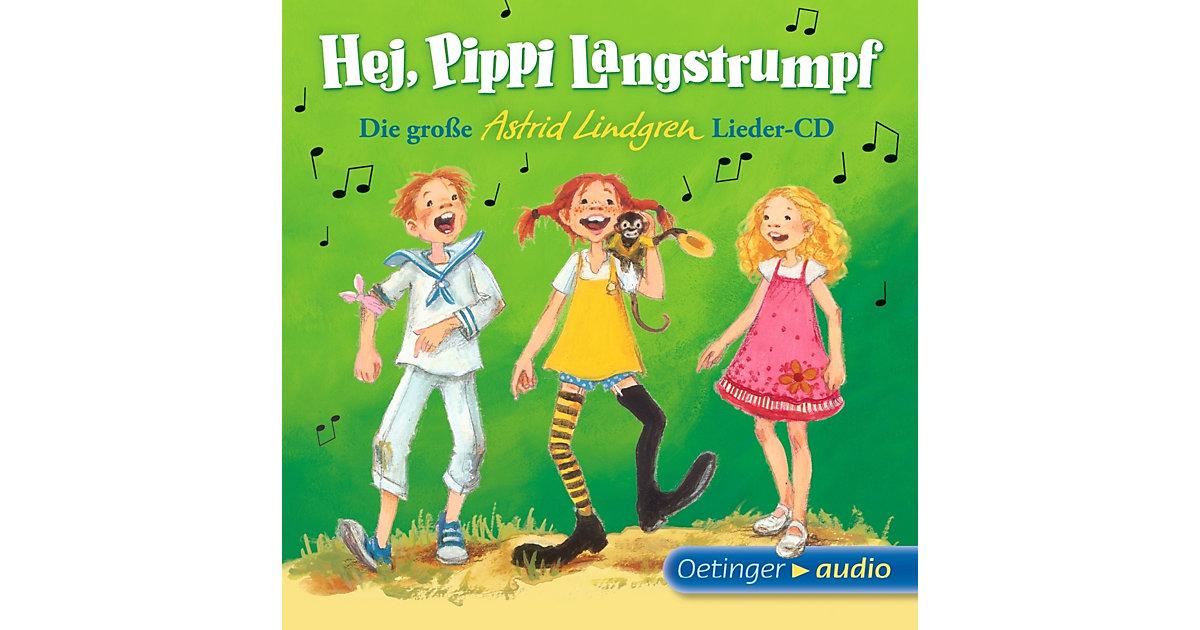 CD Die große Astrid-Lindgren-Lieder-CD - Hej, P...