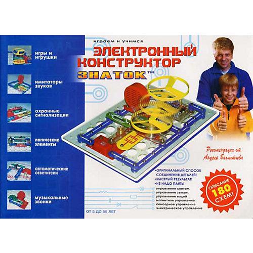 """Электронный конструктор: """"180 схем"""", Знаток от Знаток"""