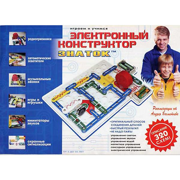 """Электронный конструктор:  """"320 схем"""", Знаток"""