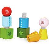 Развивающая игрушка Hape Закручивающиеся кубики