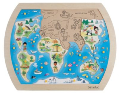Knopfpuzzle One World