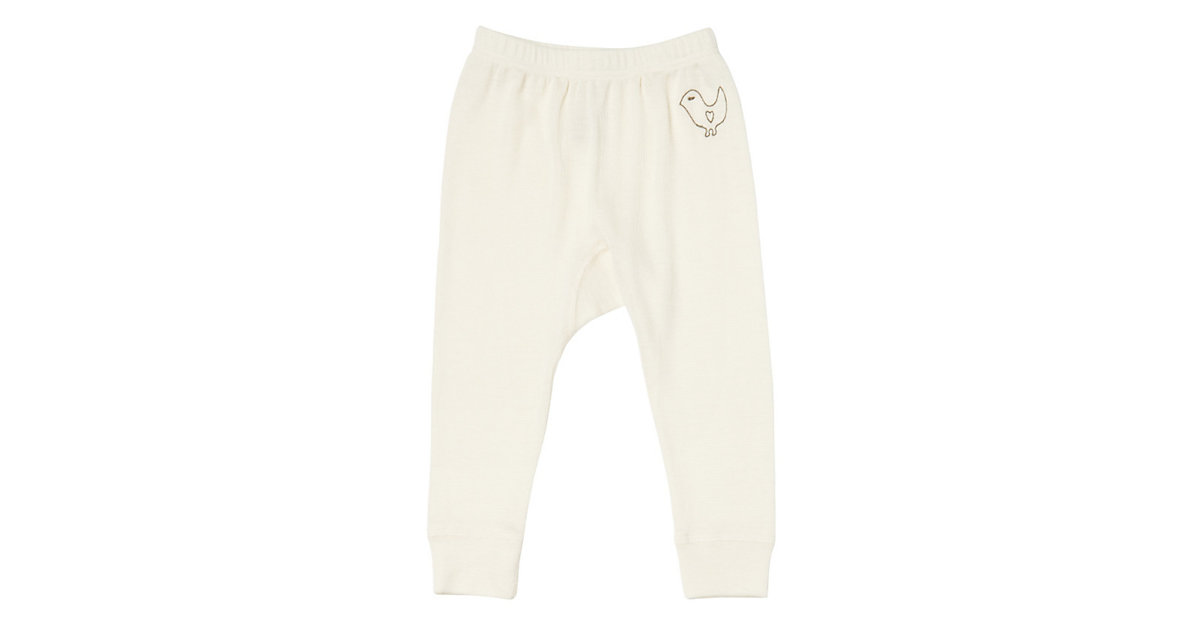 LIVING CRAFTS Baby Unterhose lang Wolle/Seide G...