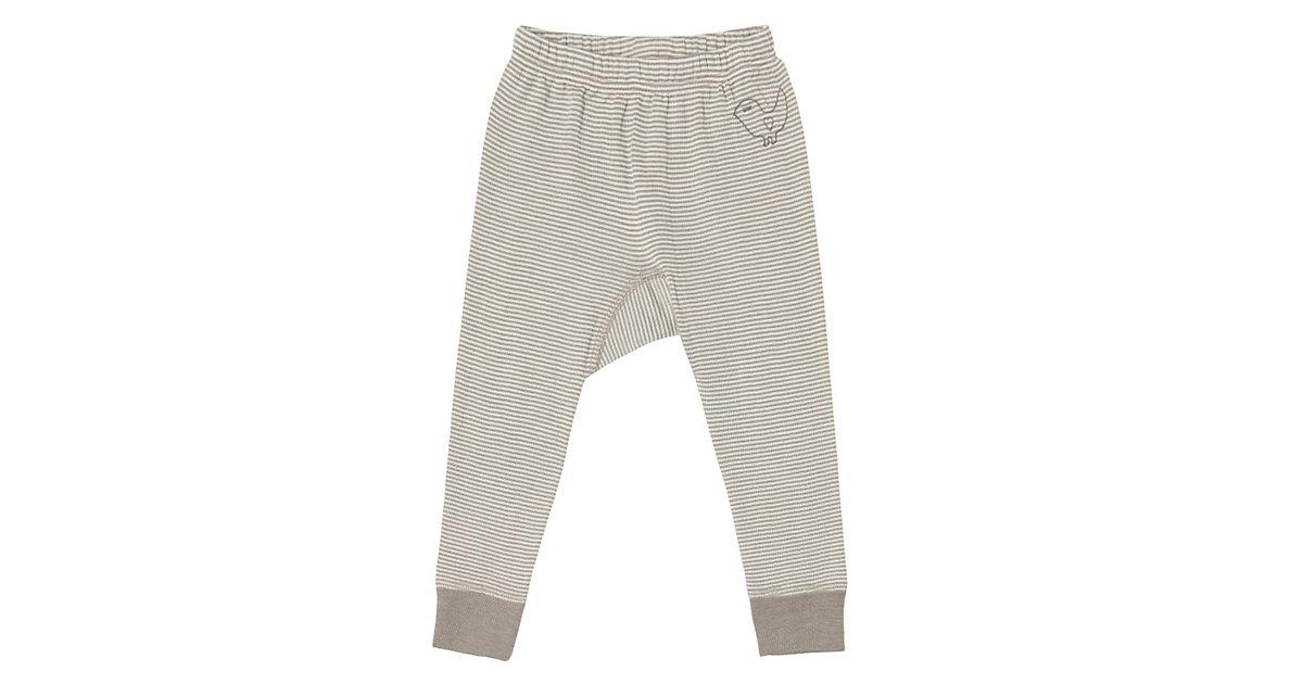 LIVING CRAFTS Baby Unterhose lang Wolle/Seide G...