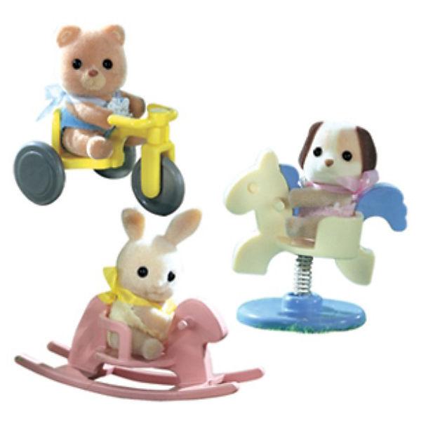 """Набор #2 """"Младенец в пластиковом сундучке"""", Sylvanian Families"""