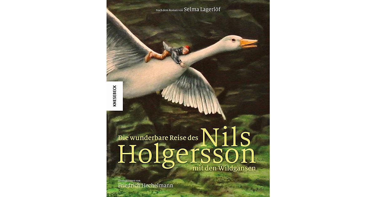 Knesebeck Verlag · Die wunderbare Reise des Nils Holgersson mit den Wildgänsen