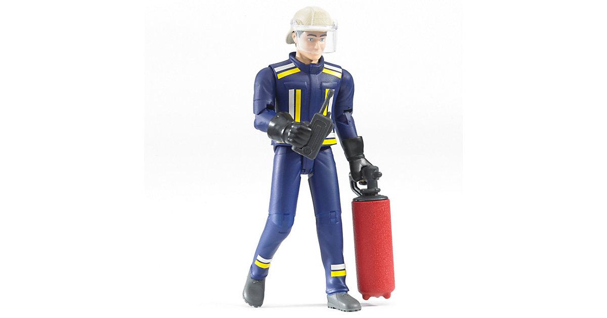 Bruder 60100 bworld Feuerwehrmann mit Zubehör