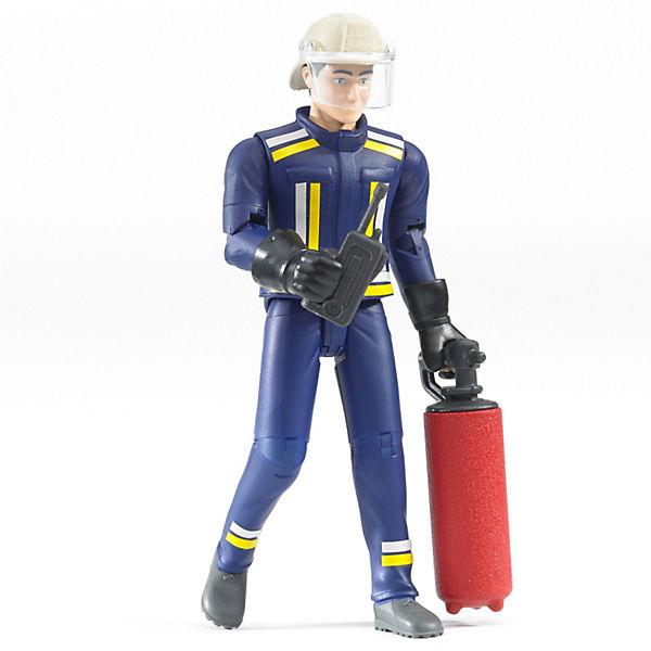 Bruder 60100 bworld Feuerwehrmann mit Zubehör, Bruder