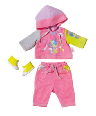 BABY born® Kleidung Classic Jogging pink, 43 cm