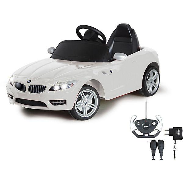 Jamara Elektrofahrzeug Ride on BMW Z 4 weiß 27 MHz Jamara