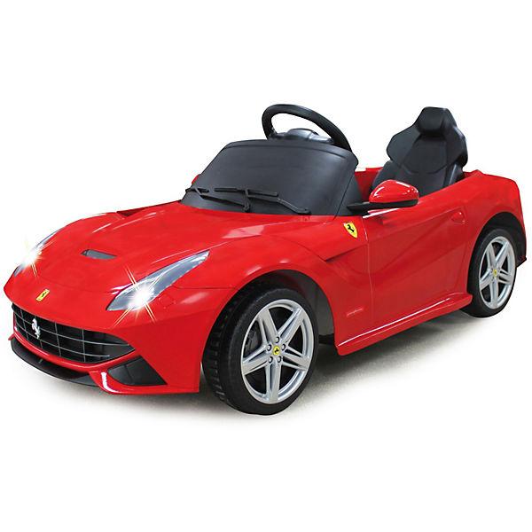 Jamara Elektrofahrzeug Ride-on Ferrari F12 Berlinetta rot 27 MHz, Jamara